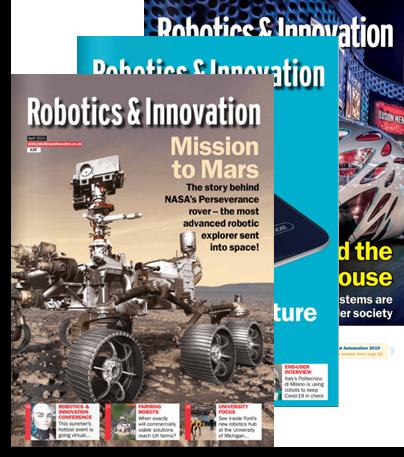 Robotics & Innovation magazine covers